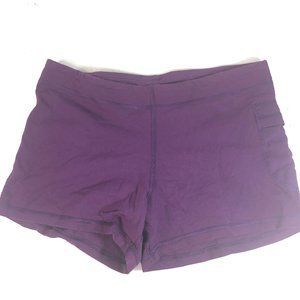 Lululemon Purple Short Running Tights Side Pocket